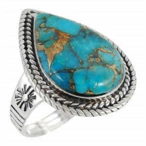‼️3 for 20$‼️Turquoise Ring